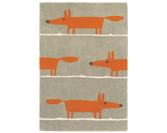 Tapis Mr FOX Cannelle