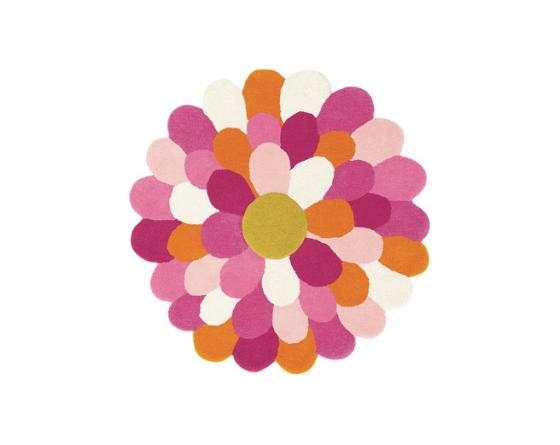 Tapis FUNKY FLOWER Rose